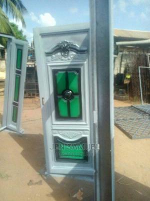 Double Pan Iron Door | Doors for sale in Edo State, Benin City