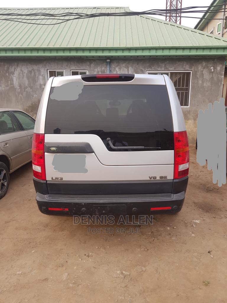 Land Rover LR3 2006 SE Silver   Cars for sale in Abule Egba, Lagos State, Nigeria
