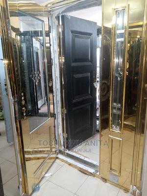 4ft Stainless Gold Door in Door | Doors for sale in Lagos State, Orile