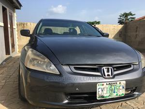 Honda Accord 2005 2.0 Comfort Automatic Gray | Cars for sale in Oyo State, Ibadan