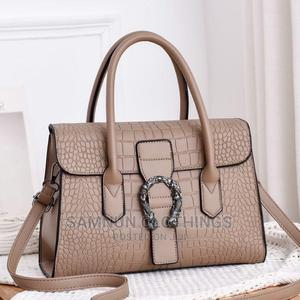 Luxury Crocodile Pure Leather Handbag For Classic Ladies | Bags for sale in Lagos State, Ikeja