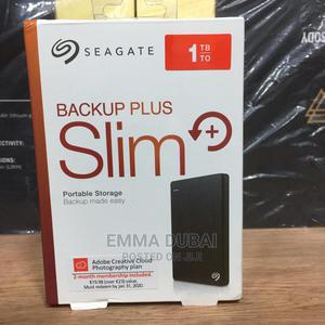 Seagate 1tb Back Up Slim External Hard Drive | Computer Hardware for sale in Lagos State, Ikeja