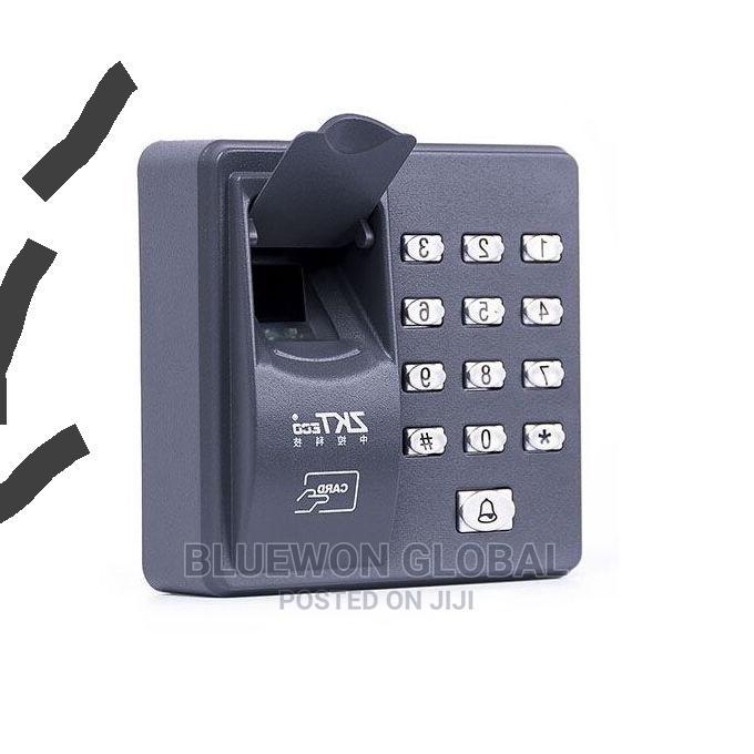 X6 ZKTECO Fingerprint Access Control System Card Reader