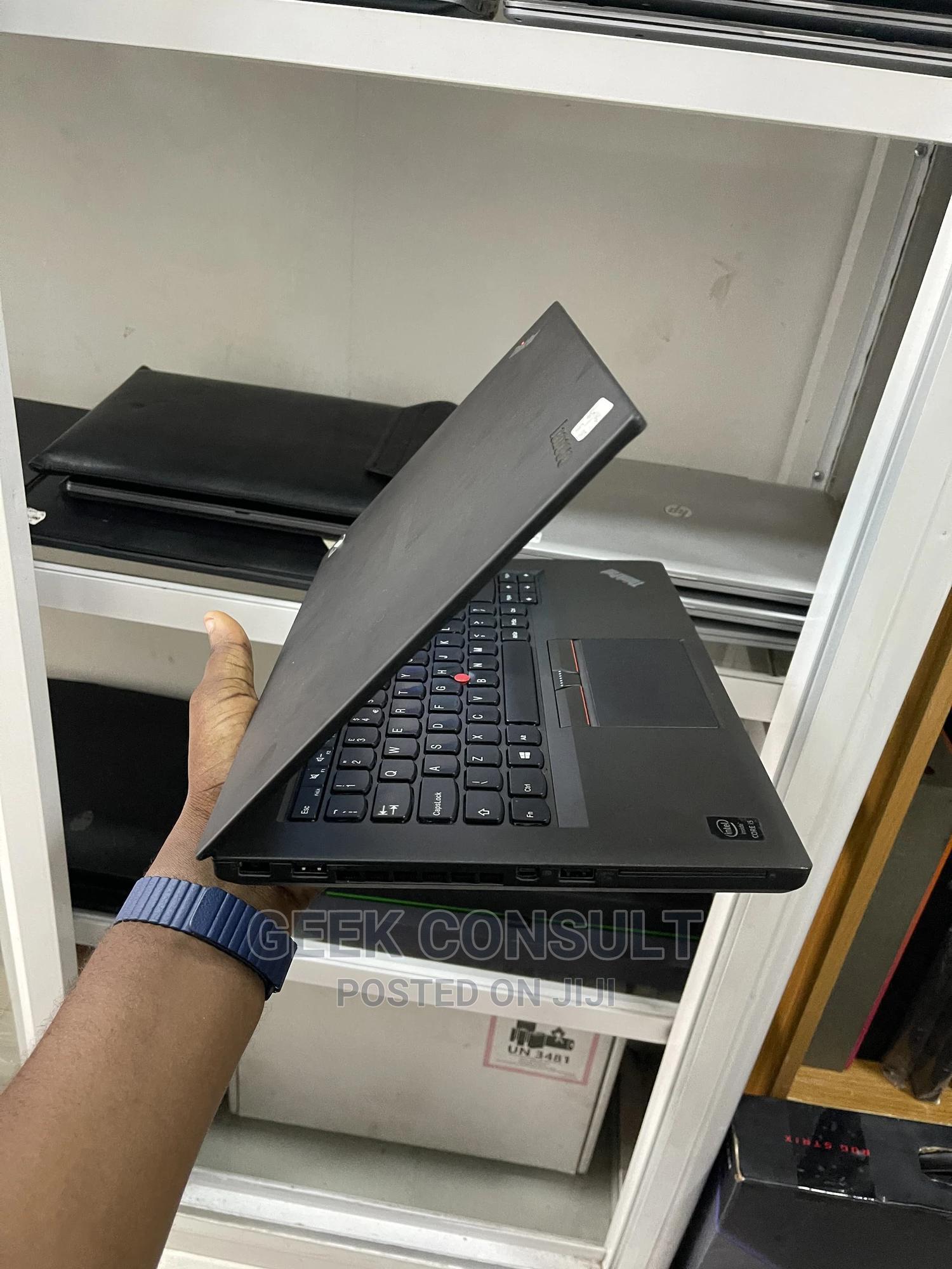 Laptop Lenovo ThinkPad T460 8GB Intel Core I5 SSD 256GB   Laptops & Computers for sale in Ikeja, Lagos State, Nigeria