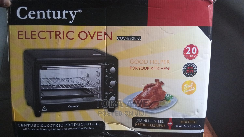 Century Electric Oven