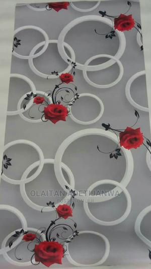 Rose Flowered Pattern Wallpaper   Home Accessories for sale in Lagos State, Magodo