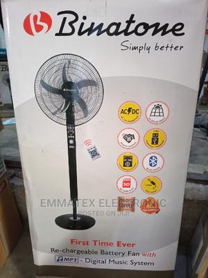 Binatone Rechargeable Fan With Music   Home Appliances for sale in Lagos State, Ajah