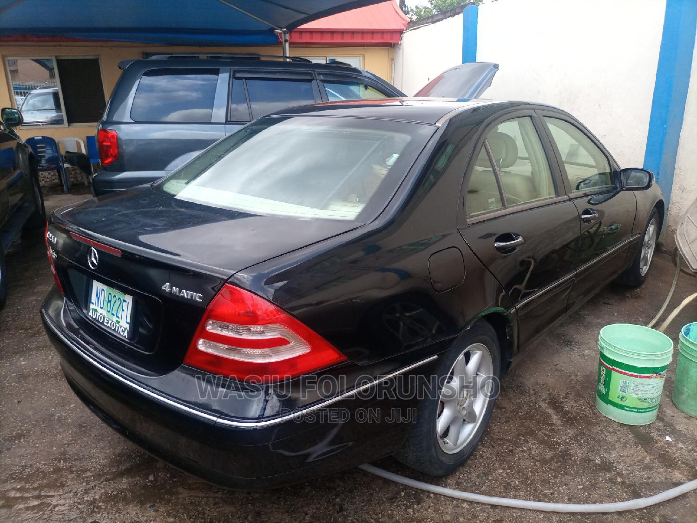 Archive: Mercedes-Benz C240 2004 Black