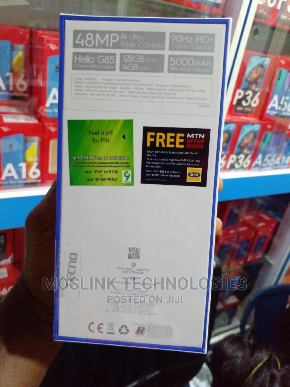 New Tecno Camon 17 128 GB Gray   Mobile Phones for sale in Ikeja, Lagos State, Nigeria