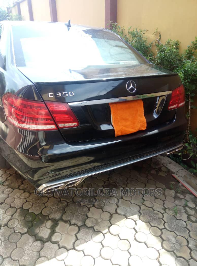 Mercedes-Benz E350 2012 Black   Cars for sale in Alimosho, Lagos State, Nigeria