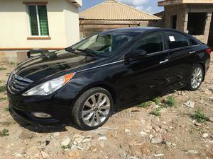 Hyundai Sonata 2012 Black   Cars for sale in Lagos State, Abule Egba