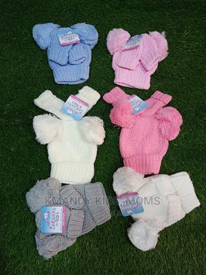 Baby Caps With Mittens | Children's Clothing for sale in Abuja (FCT) State, Kubwa