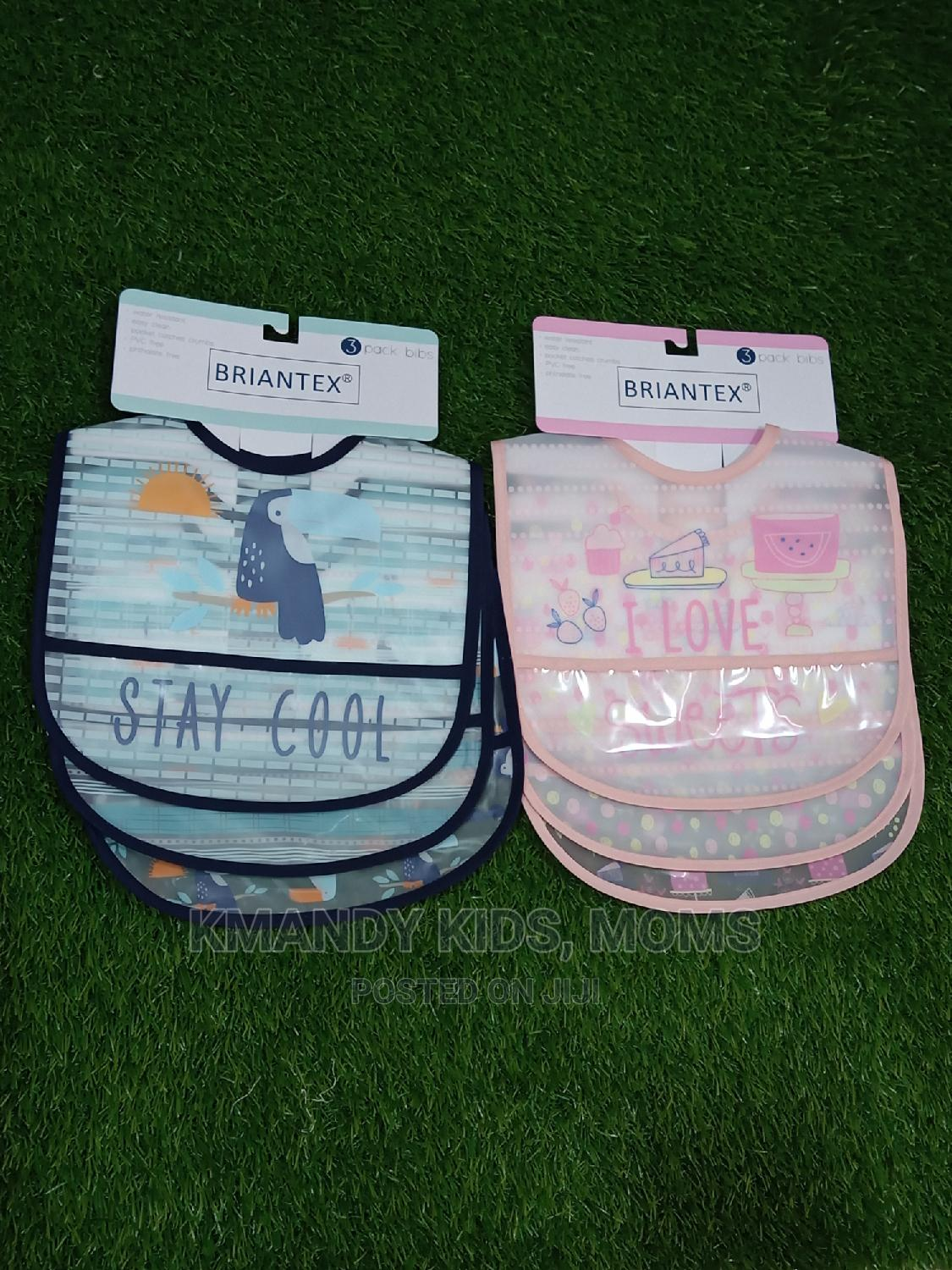 Baby Leather Bibs