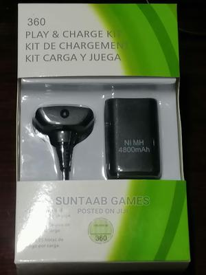 Xbox 360 Play Charge Kit Brand Microsoft | Accessories & Supplies for Electronics for sale in Lagos State, Lagos Island (Eko)