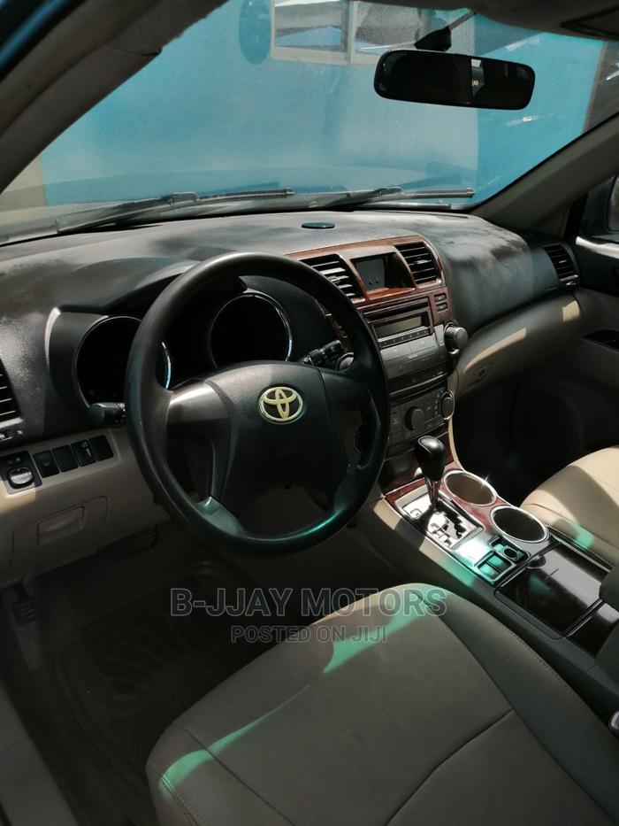 Archive: Toyota Highlander 2008 4x4 Gray