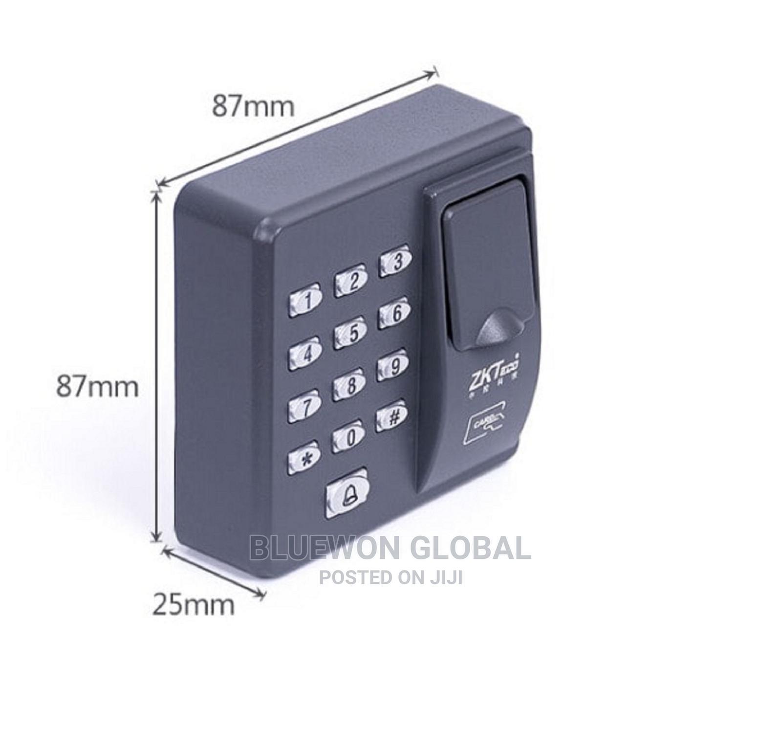 X6 ZKTECO Fingerprint Access Control System Card Reader   Safetywear & Equipment for sale in Ikeja, Lagos State, Nigeria
