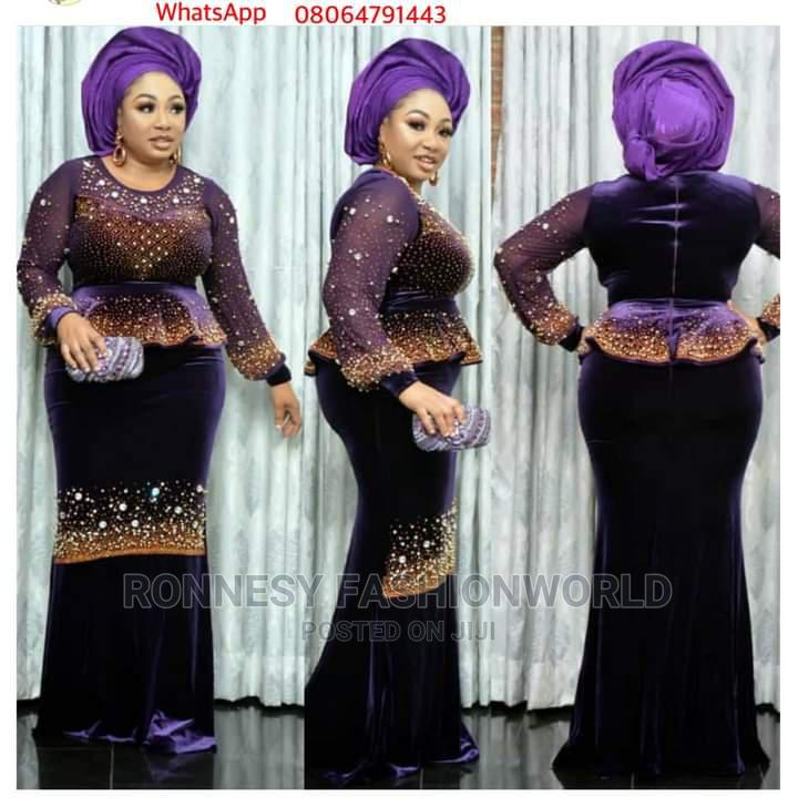 Elegant Classic Trendy Female Quality Long Gown