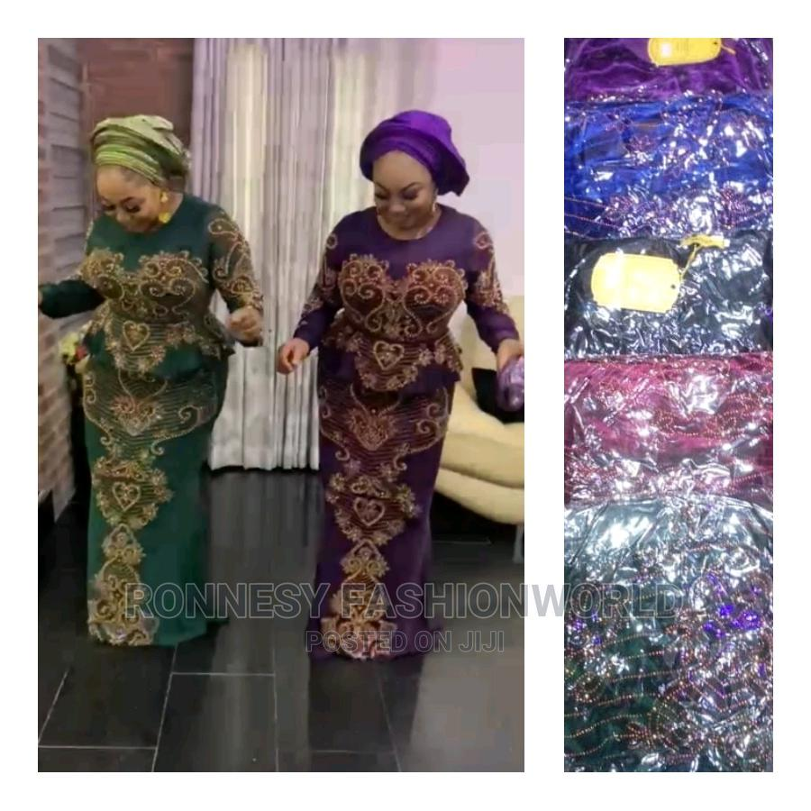 Elegant Classic Trendy Female Quality Long Gown | Clothing for sale in Ikeja, Lagos State, Nigeria