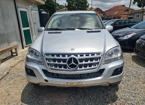 Mercedes-Benz M Class 2010 ML 350 4Matic Silver   Cars for sale in Lagos State, Yaba