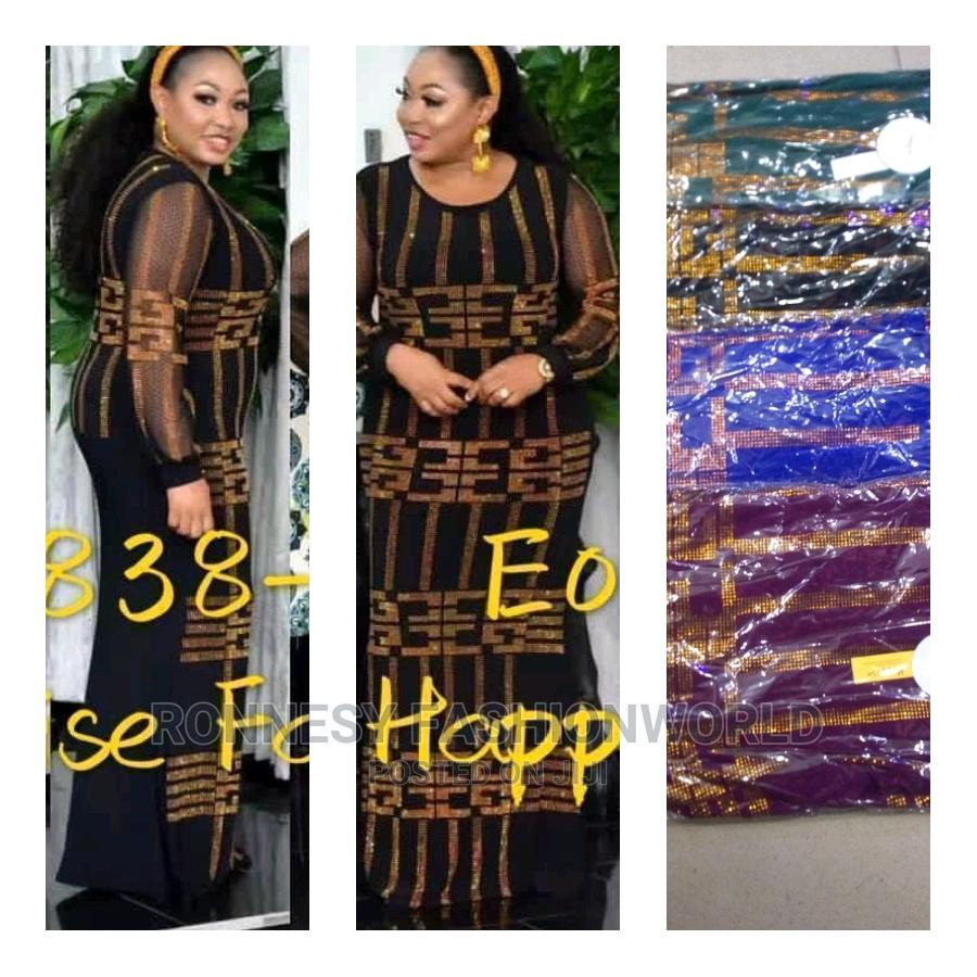 Elegant Trendy Female Quality Long Gown | Clothing for sale in Ikeja, Lagos State, Nigeria