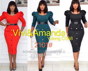 Classic Trendy Female Quality Fitted Gown | Clothing for sale in Lagos State, Ikeja