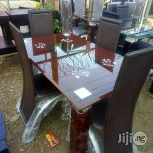 Glass Dinning Table ( 4 Chairs) | Furniture for sale in Lagos State, Maryland