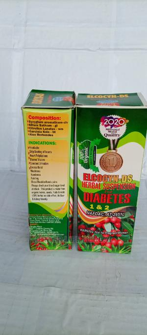 Elcocyn_ Ds Herbal Suspension for Disbetes 1 2 . | Vitamins & Supplements for sale in Lagos State, Amuwo-Odofin