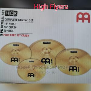 Professional Complete Set of Cymbals Plate, Hi Hat,Crash | Audio & Music Equipment for sale in Lagos State, Ojo