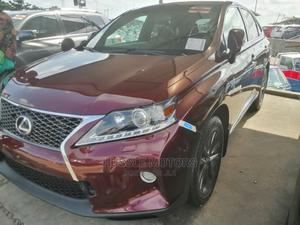 Lexus RX 2014 350 F Sport AWD Red   Cars for sale in Lagos State, Apapa