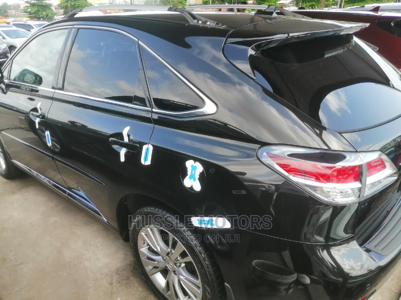 Lexus RX 2013 350 FWD Black   Cars for sale in Apapa, Lagos State, Nigeria