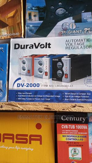 Duravolt 2000wax Stabilizer   Home Appliances for sale in Lagos State, Agboyi/Ketu