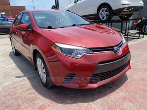 Toyota Corolla 2015 Red   Cars for sale in Lagos State, Amuwo-Odofin