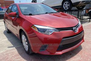 Toyota Corolla 2015 Red | Cars for sale in Lagos State, Amuwo-Odofin
