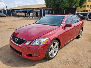 Lexus GS 2008 350 AWD Red   Cars for sale in Lagos State, Alimosho