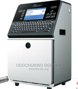 Online Expiry Date Print Machine Continuous Inkjet Printer | Manufacturing Equipment for sale in Lagos State, Ikeja