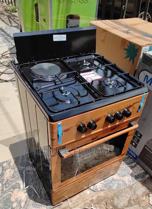 Super Maxi Gas Cooker 3gas ,1 Electric >Ignition Bottom+Oven | Kitchen Appliances for sale in Lagos State, Ojo