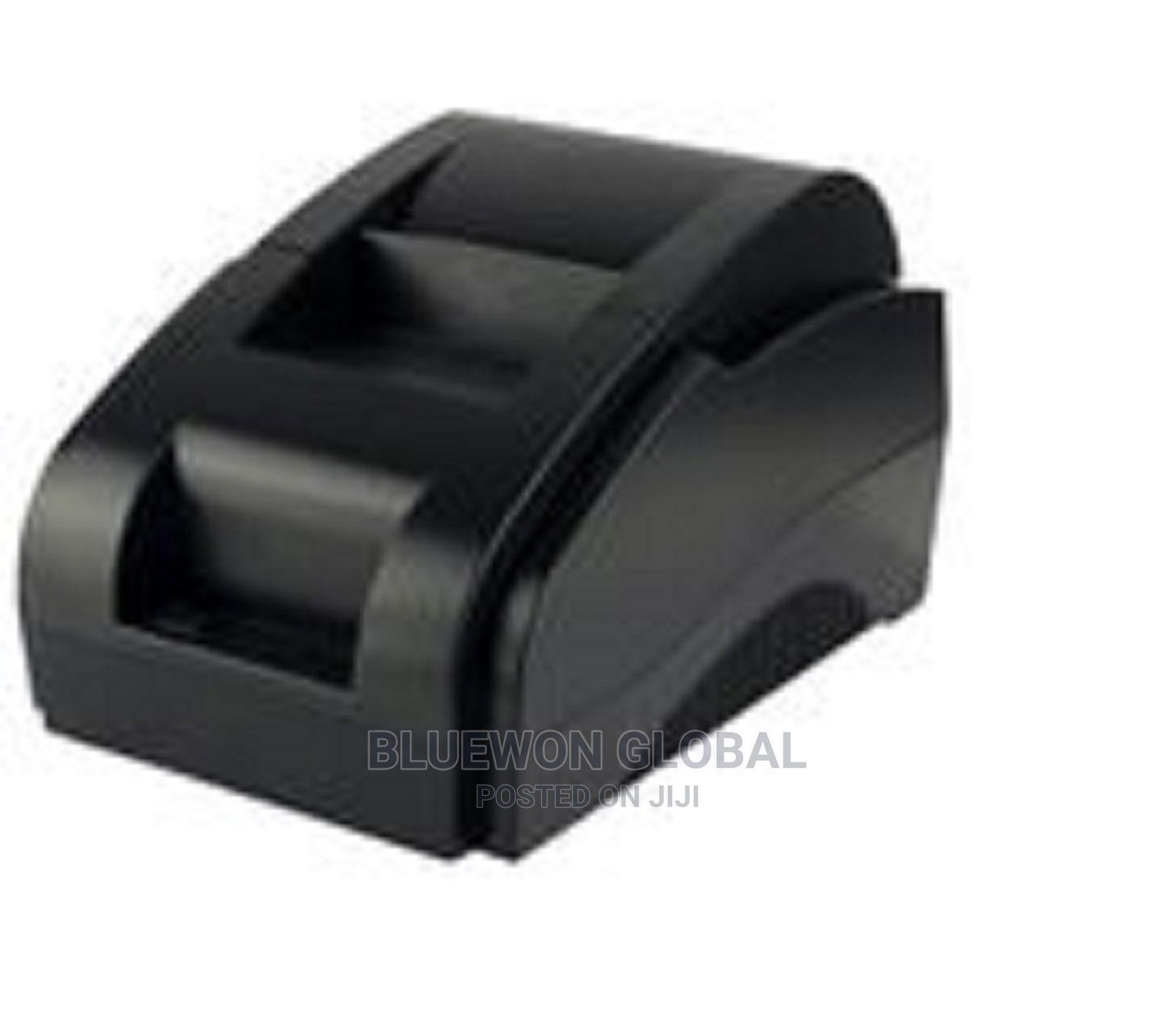 58mm POS Thermal Receipt Printer (Black) Cash Receipt