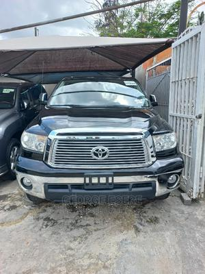 Toyota Tundra 2012 Double Cab 4x4 Limited Black | Cars for sale in Lagos State, Ikeja