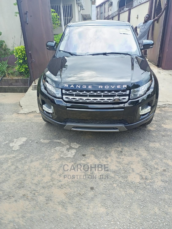 Land Rover Range Rover Evoque 2011 Black