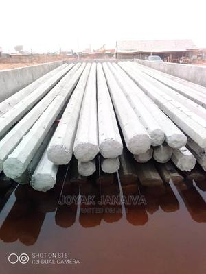 Concrete Streetu Light and Arial Fiber Poles | Building Materials for sale in Abuja (FCT) State, Central Business District