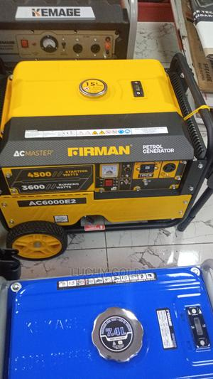 Firman Generator 6000 | Electrical Equipment for sale in Abuja (FCT) State, Wuse 2