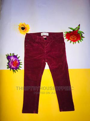 Zara ,Baby Girl Skinny Swude Pant | Children's Clothing for sale in Lagos State, Amuwo-Odofin