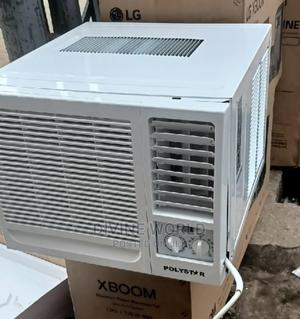 Brand New Polystar Window AC 1hp Fast Cooling  Copper   Home Appliances for sale in Lagos State, Ikeja