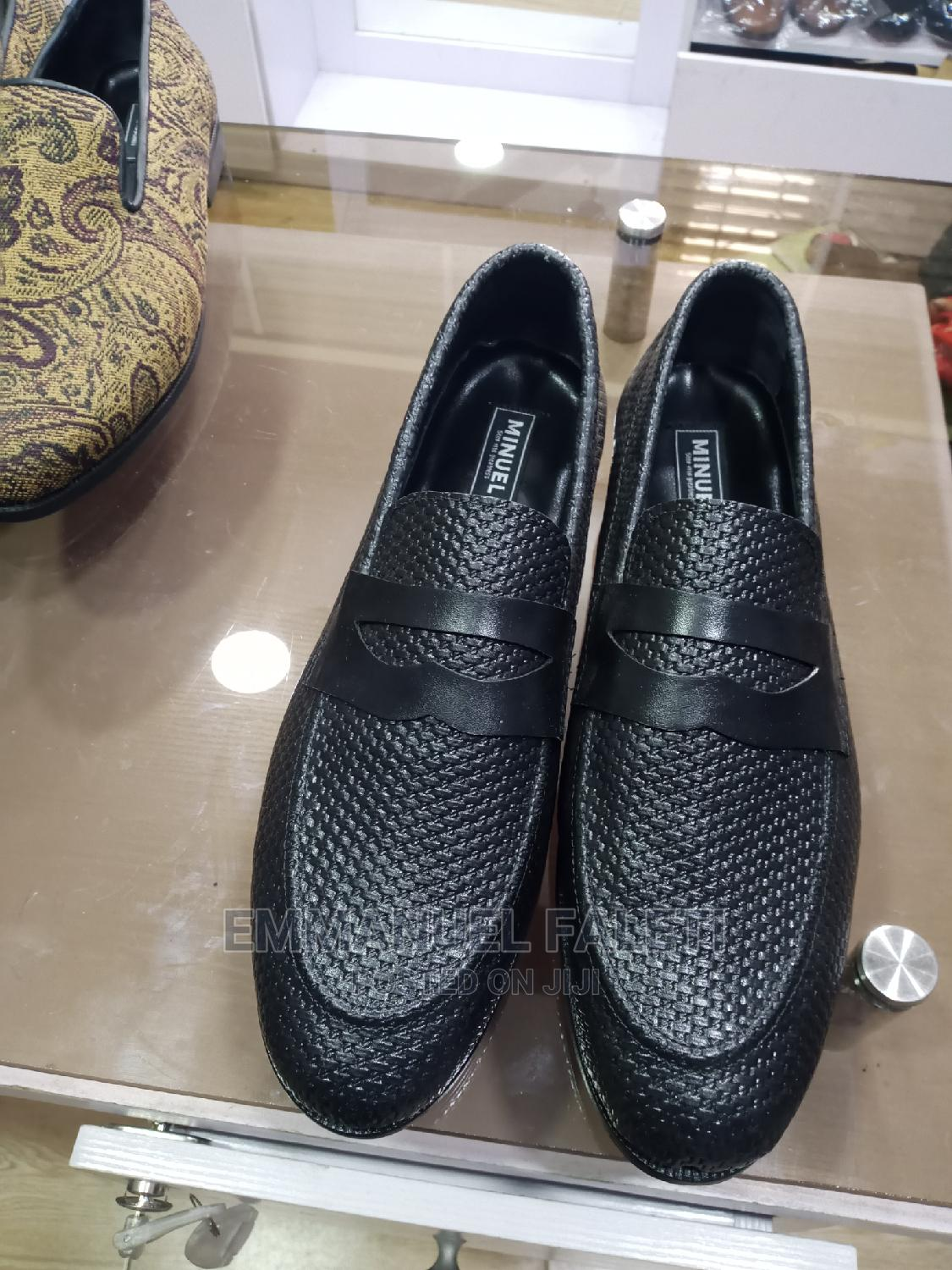 Black Penny Loafers | Shoes for sale in Mushin, Lagos State, Nigeria