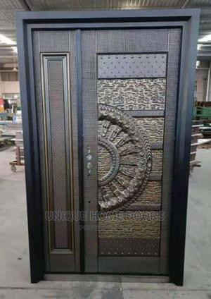 4ft by 7ft Semi Casted High Grade Copper Security | Doors for sale in Lagos State, Orile