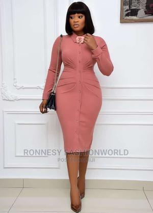 New Female Quality Classic Trendy Fitted Gown   Clothing for sale in Lagos State, Ikeja
