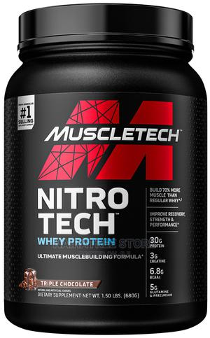 Muscletech Nitrotech Whey Protein Triple Chocolate 1.5LB   Vitamins & Supplements for sale in Lagos State, Lekki