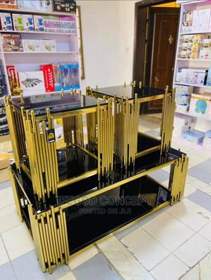 Tempered Glass Center Side Table | Furniture for sale in Lagos State, Ojo