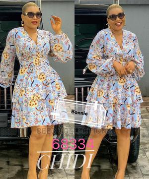 New Quality Female Long Sleeve Flare Gown | Clothing for sale in Lagos State, Oshodi
