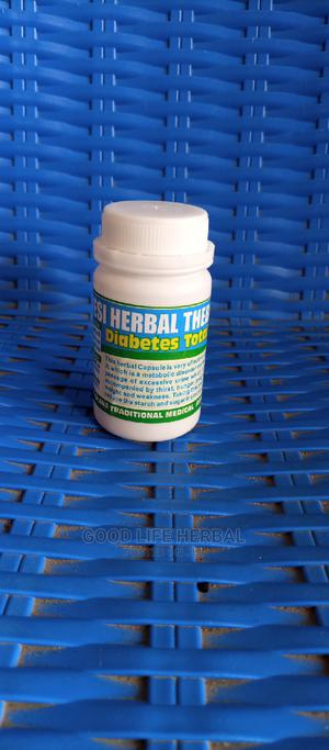 Diabetes Herbal Total Cure Capsule | Vitamins & Supplements for sale in Lagos State, Amuwo-Odofin